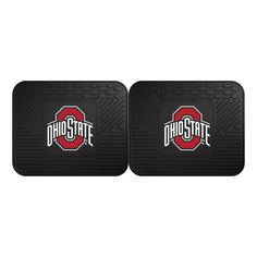 Victory Postcards NCAA Ohio State Buckeyes Athletic Logo with Brutus Magnetic Notepad 4 x 9,White