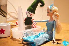 Blog Tintenelfe.de - Der kleine Weihnachtself #elfontheshelf #elf #weihnachten #frozen #disney #annaundelsa