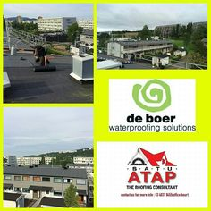 Duo high tech waterproofing from Belgium.  Workerbility, water resistant, uv resistant tpo top coating will make your flat roof high end, safety and esthetic.  With insurance back warranty of 15 years.  Contact us 03-40319455 (office hour) for further info. Or whatsapp 019-656 0961 www.1atap.com.my