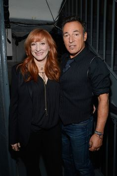 Bruce Springsteen and Patti Scialfa of The E Street Band   The 24 Most Adorable Musician Couples In History