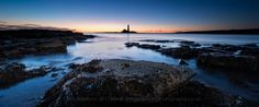 Lighthouse Blues by Chris Newham, via 500px