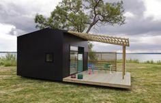 Una XCLNT opcion para una minicasa de descanso jiji (casa-prefabricada-madera-Mini_House)