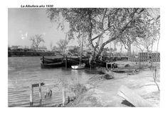 Valencia Antigua del 1921 al 1940 : Puerto de Catarroja ( la Albufera ) año1930