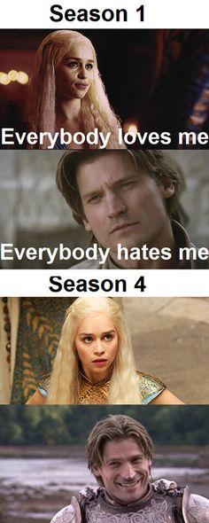 NOT TRUE. I still love Dany!