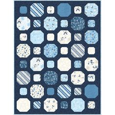 Quilt Design, Quilting Designs, Snowball Quilts, Welcome Winter, Snowman Quilt, Wilmington Prints, Design Inspiration, Rugs, Fabric