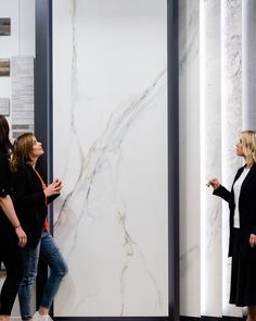 Slab tiles are huge. Discover the benefits, advantages & unique properties of these extra-large format porcelain slab tiles from Beaumont Tiles. Bathroom Renos, Bathrooms, Beaumont Tiles, Tile Showroom, The Next Big Thing, Taps, Master Bath, Basement, Black And White