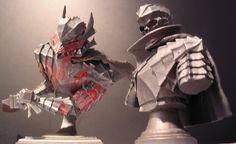 """Art of War Finest"" Armored Berserk Bust Up Statue (Exclusive: Set of 2) - Blogs - Forums de discussion jeux vidéo Gamekult"