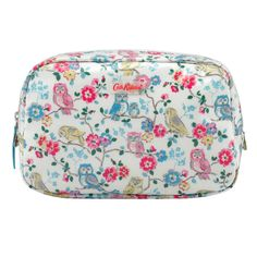 Mini Owls And Flowers Classic Box Cosmetic Bag | Beauty Offer 1 | CathKidston