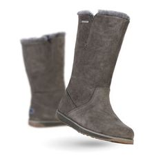 SANDY BAY HI Womens Liner Skin Boot - CHARCOAL