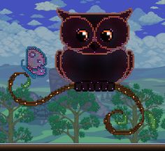 Owl and a butterfly - Imgur