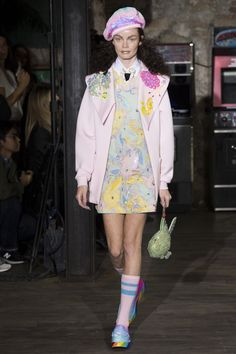 Manish Arora - Spring 2017 Ready-to-Wear. I would not wear this, but I want someone near me to so I can bask vicariously in the whimsy. The separate pieces are dope though.