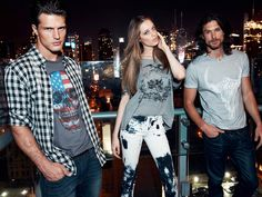 Colcci 2014 Spring Summer Ad Campaign - Shot by Sebastian Kim with Erin Heatherton, Izabel Goulart, Thairine Garcia, Diego Miguel, and Martin Mica at Ink48 Hotel in New York: Designer Denim Jeans Fashion: Season Collections, Runways, Lookbooks and Linesheets