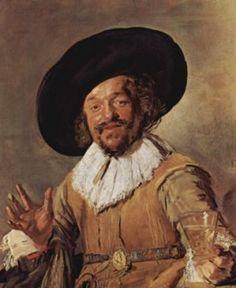 Het bekende schilderij van Frans Hals: De vrolijke drinker