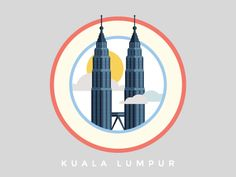 KLCC designed by Afdzal Ahmad. Connect with them on Dribbble; the global community for designers and creative professionals. Graphic Design Typography, Graphic Design Illustration, Graphic Art, Weird Gif, Travel Icon, Instagram Highlight Icons, Art Sketchbook, Design Art, Doodles