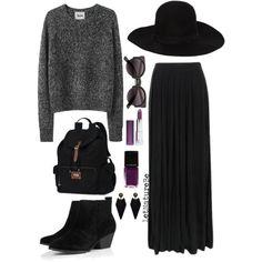 tips for my long black skirt