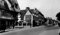 Puzzle over this old photograph of Cambridge Old Photographs, Old Photos, Cambridge Pubs, Honeymoon Night, Past, Nostalgia, Street View, England, World