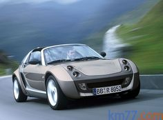 smart roadster Gama Roadster Gama Roadster Descapotable Exterior Lateral-Frontal 2 puertas