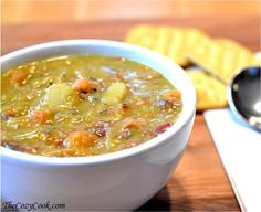 I realize that I'm making quite a claim here, by stating that this soup is the BEST ever, but.. it just is. My mom used to make this and I was sure that I couldn't do it like she does, but (GASP!)… I think I DID!!!! The secret's in the ham bone. Now if you are unable or… [read more]