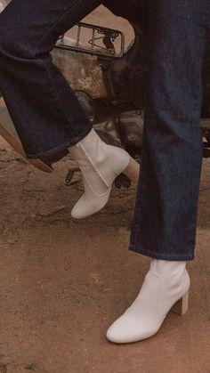 bottes blanches jonak