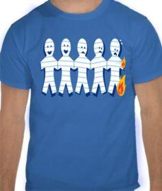 camiseta familia de papel 19,90