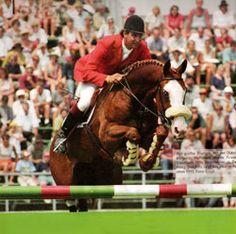 Franke Sloothaak y Weihaiwej (entre otros medalla de oro en los WEG de 1994 en La Haya)
