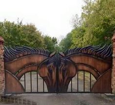 Main gates to Stables