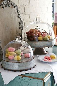 Macaron Stand -- love this idea for weddings & showers!