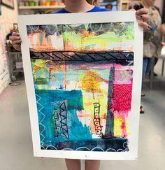 Abstract Scraper Painting - Kids Art Classes, Camps, Parties and Events - Small Hands Big Art Art Activities For Kids, Preschool Art, Kids Art Class, Art For Kids, Modern Art Paintings, Indian Paintings, Abstract Art, Abstract Paintings, Oil Paintings