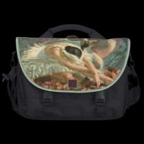 Ballet Swan commuterbag by ASummersDay Swan, Lunch Box, Ballet, How To Make, Gifts, Design, Swans, Presents