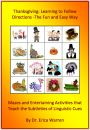 Thanksgiving Following Directions- The Fun and Easy Way product from Good-Sensory-LearningShop on TeachersNotebook.com
