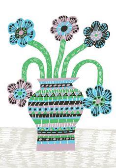 Flower in a Vase: Marcus Oakley
