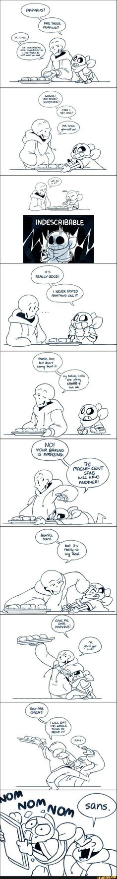 underswap, fandomlife, struggles Undertale Memes, Undertale Fanart, Undertale Comic, Underswap Papyrus, Cute Comics, Funny Comics, Sans And Papyrus, Food Poisoning, Dear God