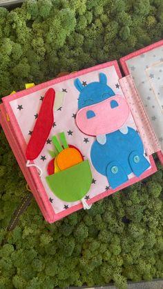 Diy Busy Books, Diy Quiet Books, Felt Quiet Books, Montessori Activities, Craft Activities For Kids, Toddler Activities, Art For Kids Hub, Kits For Kids, Quite Book Patterns