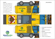 Free Download Paper Model Trucks | BETAALBARE KWALITEITSBOUWPLATEN MET UW LOGO!