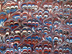 What is the Peacock Swirl? The Peacock (also called Bouquet) swirl was created around the end of the 18th century as a paper marbling technique. The pattern resembles the plumage of a male peacock …