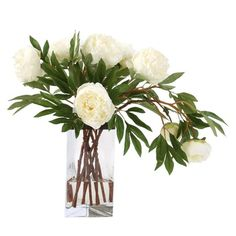 I pinned this Silk Peony Arrangement from the Presidential Panache event at Joss and Main!