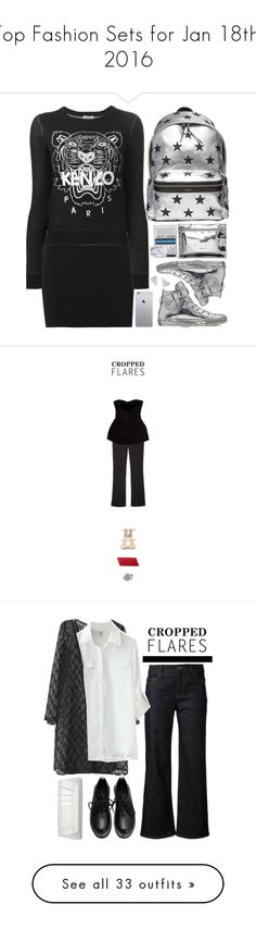 """""""Top Fashion Sets for Jan 18th, 2016"""" by polyvore ❤ liked on Polyvore featuring Rock 'N Rose, A.L.C., Kenzo, Converse, Yves Saint Laurent, modern, women's clothing, women's fashion, women and female"""