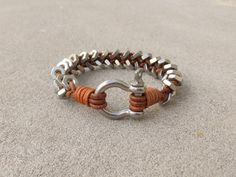 This is a great bracelet if you are a Ironworker, Rigger, Welder or in any field of construction or even a biker. This rugged bracelet will outlast