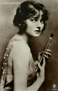 Silent screen beauty Corinne Griffith