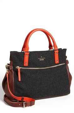 This colorblock kate spade new york fall crossbody satchel is amazing!