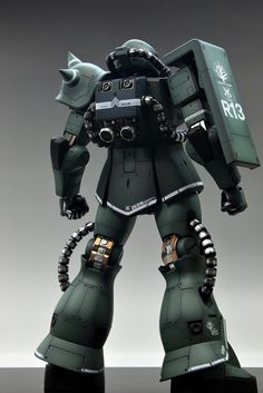 GUNDAM GUY: Mega Size 1/48 MS-06J Zaku II - Customized Build