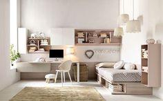Dormitorios modernos para adolescentes, ideas para decoración,mobiliario y estilos.Cómo hacerlos más funcionales y atractivos.Dormitorios modernos creativos