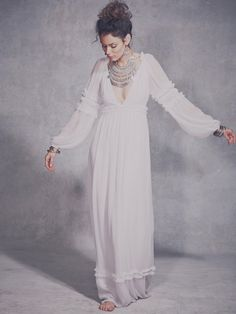 Free People Valley Dress, $550.00 also comes in black - great for this!