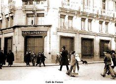 """El Fornos, uno de los locales de más animada vida del Madrid alfonsino, llenó todo un capítulo en la historia amable de nuestra villa. El café, que permanecía abierto toda la noche, era local para juergas galantes y sede de tertulias de comediantes, escritores, políticos, artistas, aristócratas, financieros o toreros. Famosas eran sus cenas baratas a la salida de la """"cuarta"""" del Apolo, la última sesión (de una a dos de la noche) en el cercano y desaparecido Teatro Apolo."""