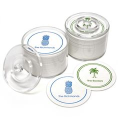 Palm Beach Party Coasters 45.00
