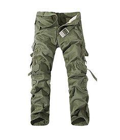 Mens Cargo Pants Multi Pockets Casual Cotton Pants Work Overalls are  fashionable and comfortable.Mens Cargo Pants Multi Pockets Casual Cotton  Pants Work ...