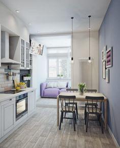 Кухня в скандинавском стиле: Кухни в . Автор - Анна Теклюк