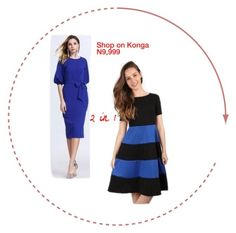 Shop on Konga Short Sleeve Dresses, Shoe Bag, Polyvore, Stuff To Buy, Shopping, Collection, Design, Women, Fashion