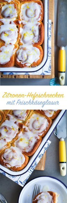 Zitronen-Hefeschnecken / lemon cinnamon buns / www.zuckerzimtundliebe.de