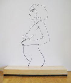 Des sculptures en fils de Fer par Gavin Worth